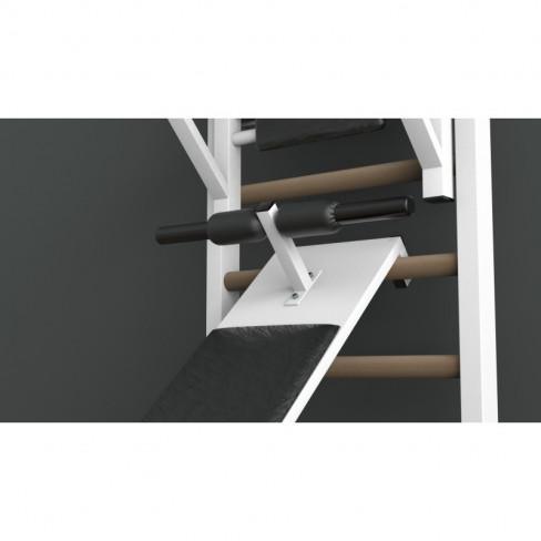 Скамья для шведской стенки горизонтальная с валиками EffectSport ДГВ