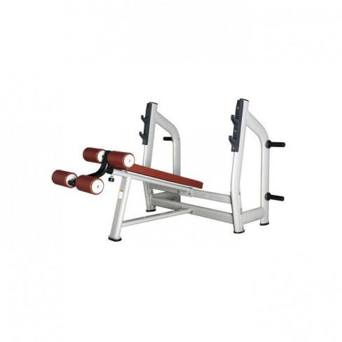 Скамья Bronze Gym H-024 для жима с отрицательным наклоном
