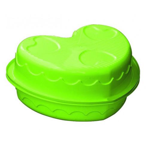 """Детская пластиковая песочница мини-бассейн """"Сердечко двойное"""" Marian Plast 435"""