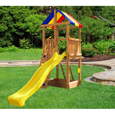 """Детская площадка - башня """"Пикник"""""""