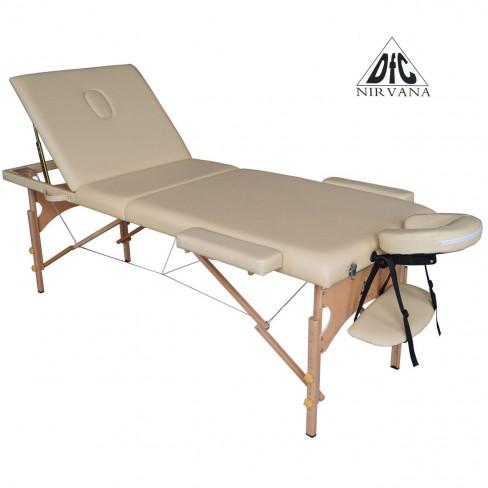 Складной массажный стол DFC Nirvana Relax Pro (бежевый)