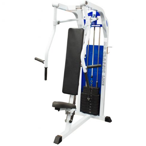 Грузоблочный тренажер MB Barbell MB 3.18 Горизонтальный жим от груди