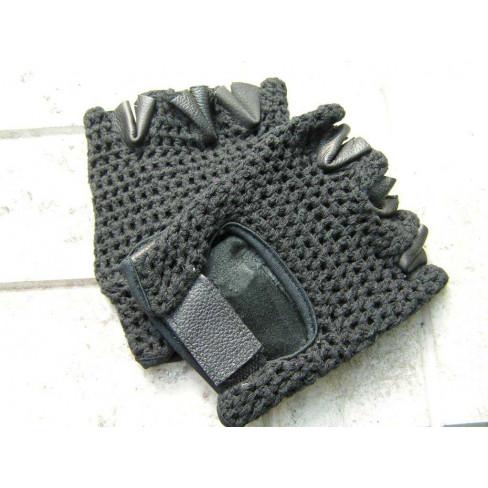 Перчатки для фитнеса (кожа + сетка Pro)