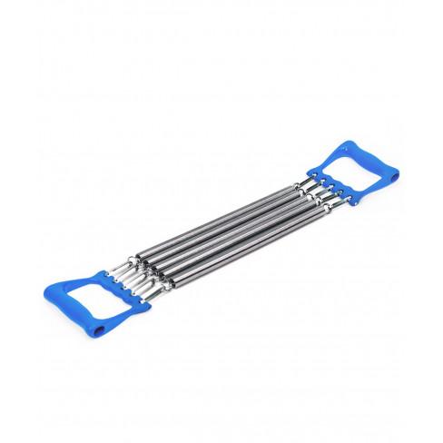 Эспандер плечевой ES-101 5 струн, металлический, синий