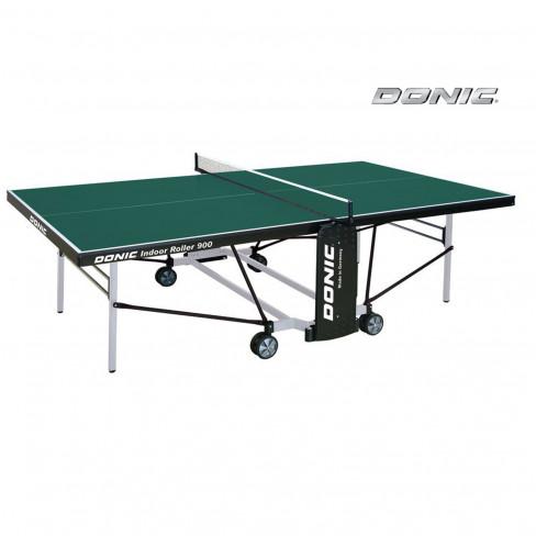 Стол для помещения Donic Indoor Roller 900 зеленый 274х152х76