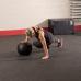 Тренировочный мяч мягкий WALL BALL 9,1 кг (20lb)
