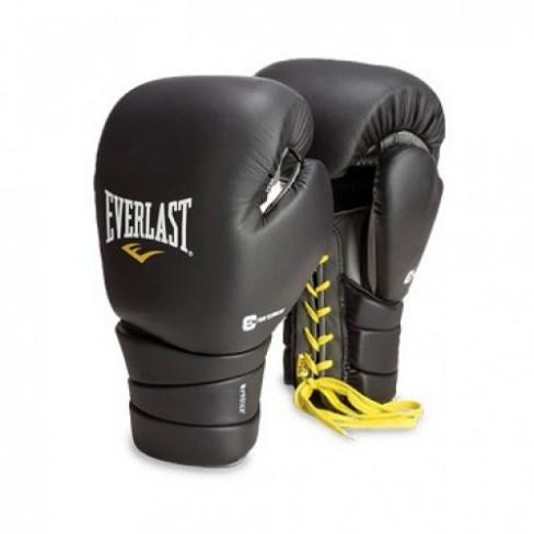 Перчатки тренировочные EVERLAST Protex3 на шнуровке